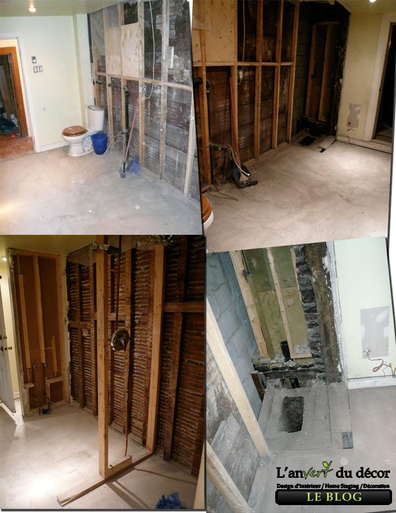 Mission nouvelle salle de bain pisode 2 l 39 an vert du d cor for Fin de serie salle de bain