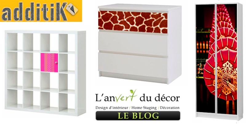 Meuble Tv Ikea Casier : Le Grand Suédois Relooké Par Un Français – L an Vert Du Décor