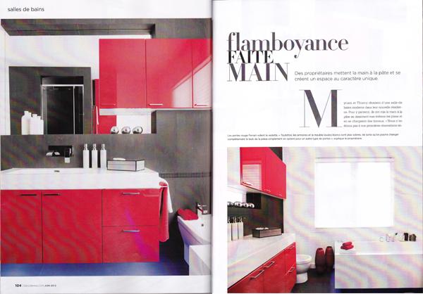 Nouvelles parutions magazines l 39 an vert du d cor for Decormag salle de bain