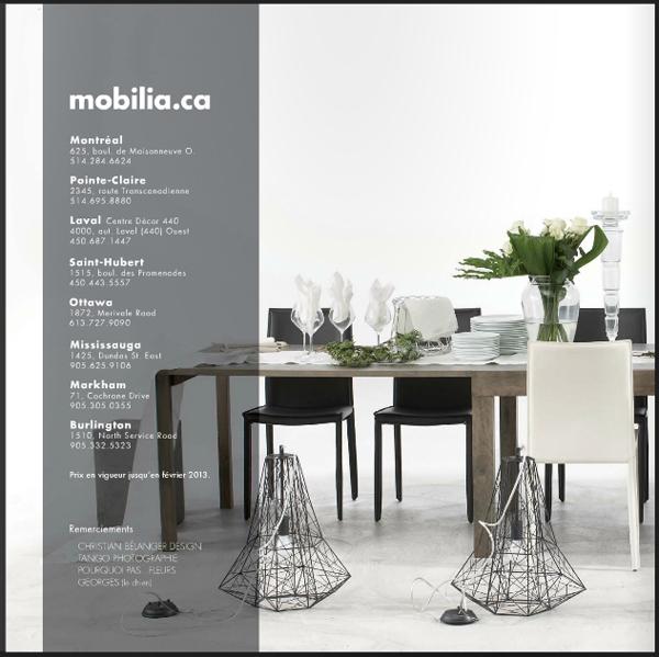 Nouveau catalogue mobilia l 39 an vert du d cor for Catalogue mobilia cuisine