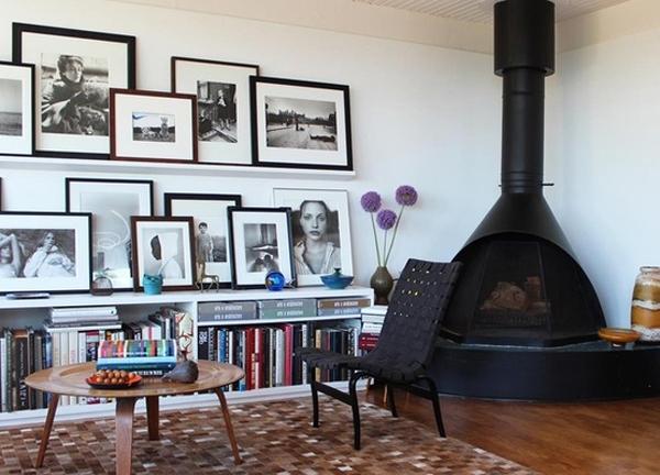 des cadres des cadres partout l 39 an vert du d cor. Black Bedroom Furniture Sets. Home Design Ideas