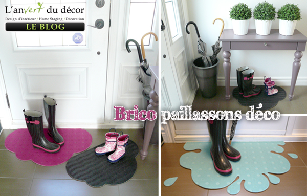 Paillassons deco-sept