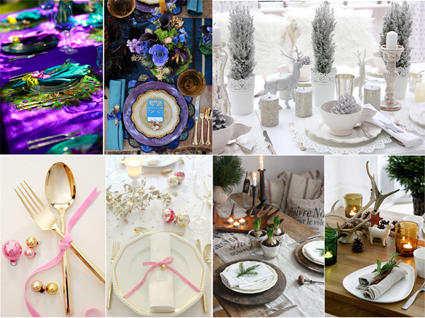 Tendances d co et art de la table no l 2013 l 39 an vert for Diy deco table noel