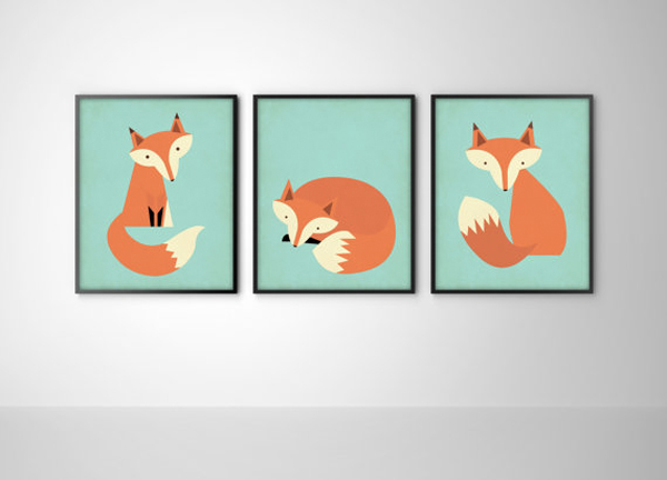 AVDD- Affiche 3 renards