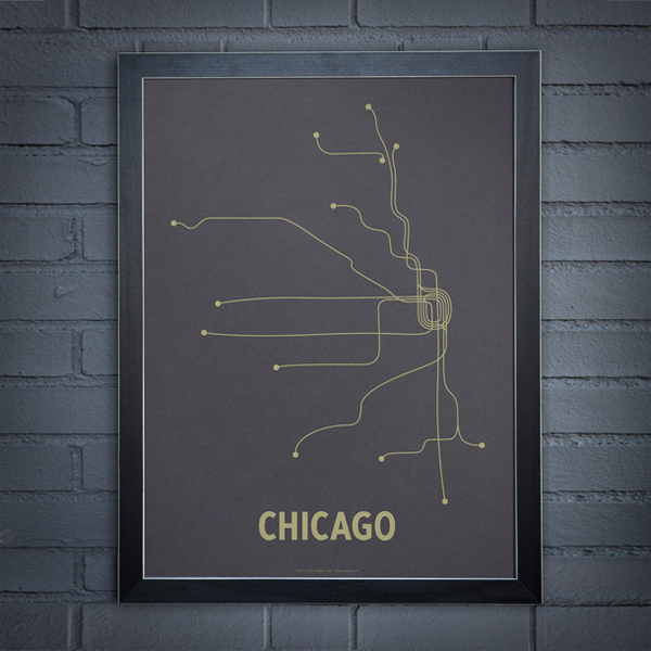 AVDD-Chicago minimalist map