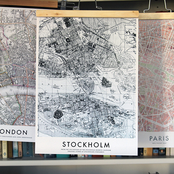 AVDD-Stockolm-London-Paris-Maps