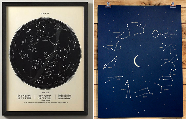 Constellations maps