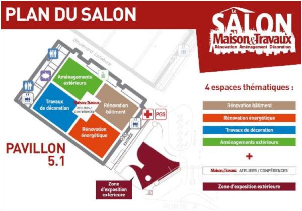 Plan salon