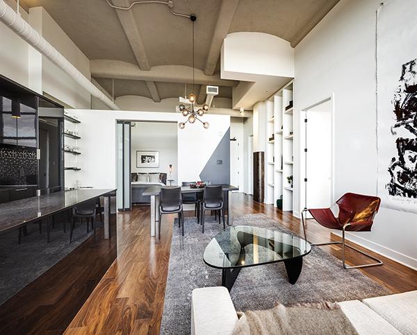 Loft cuisine-salon-chambre