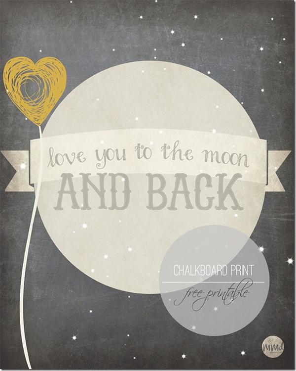Love u to the moon