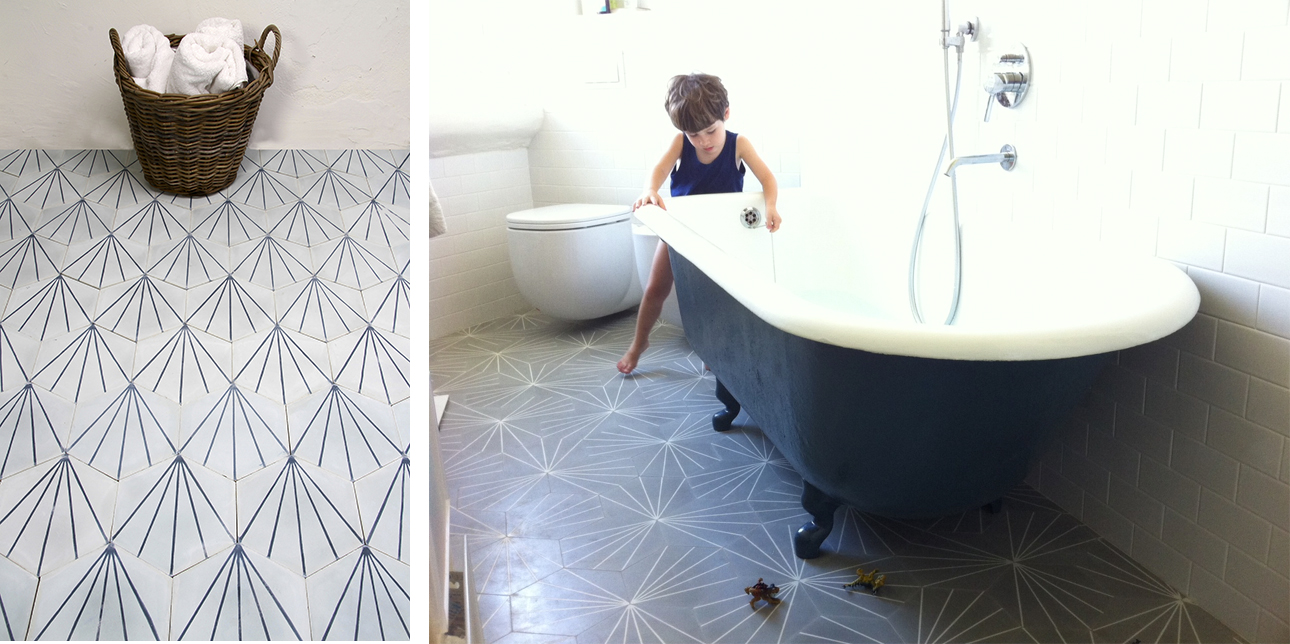 Dandelion tiles