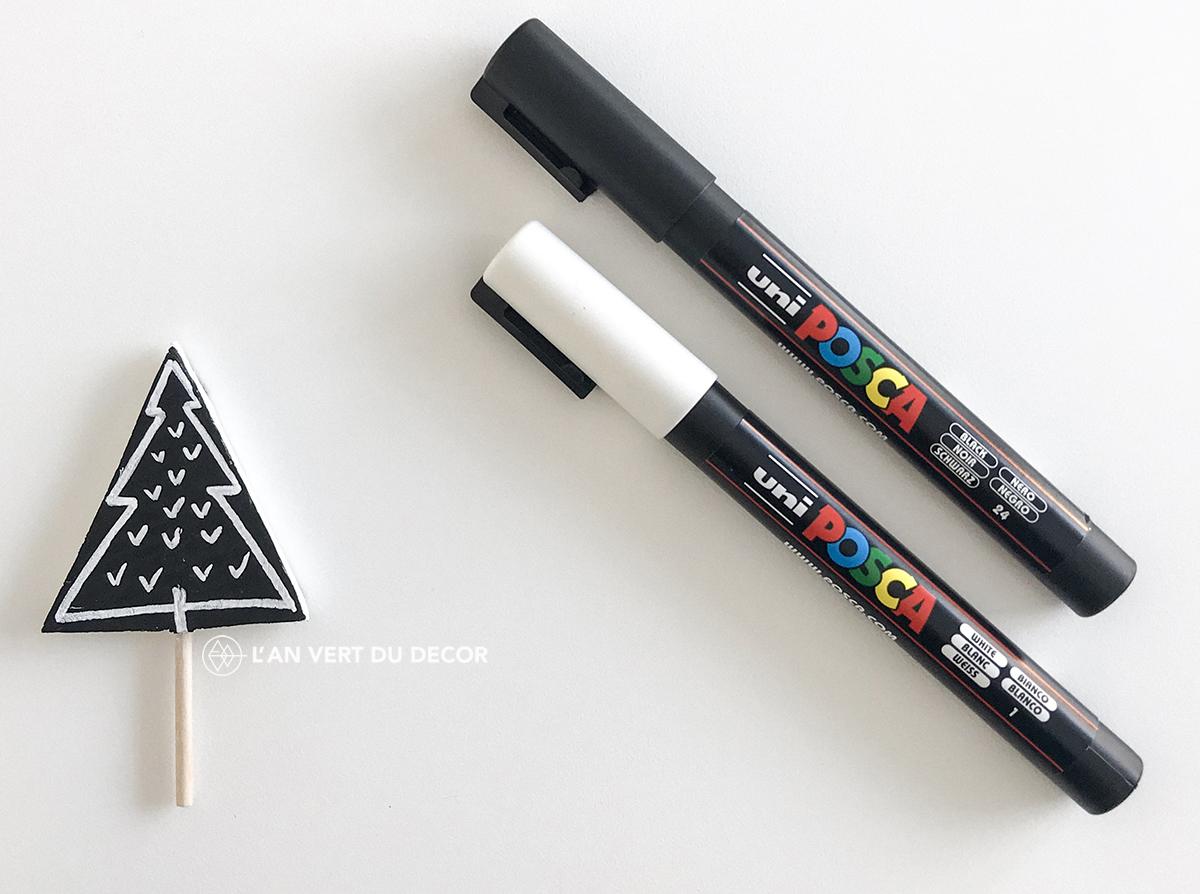 DIY - Calendrier de l'avent en bois | AVDD | Chloé Comte