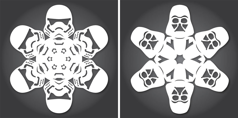 Flocons Star wars