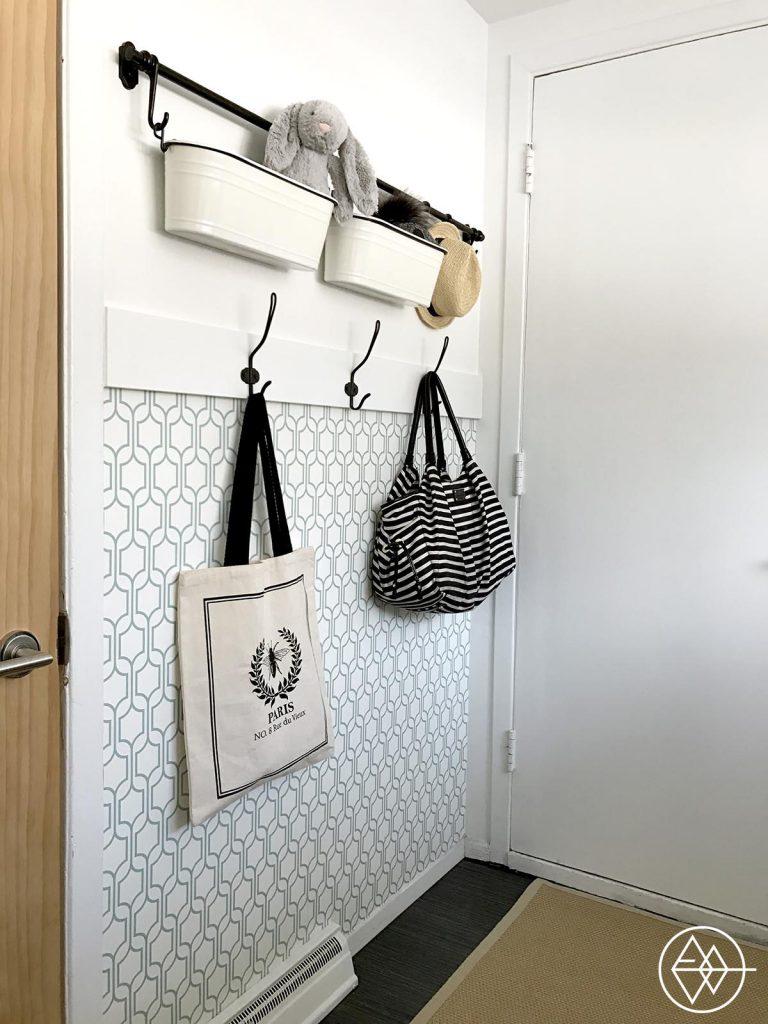 home tour la buanderie le makeover avant apr s l 39 an vert du d cor. Black Bedroom Furniture Sets. Home Design Ideas