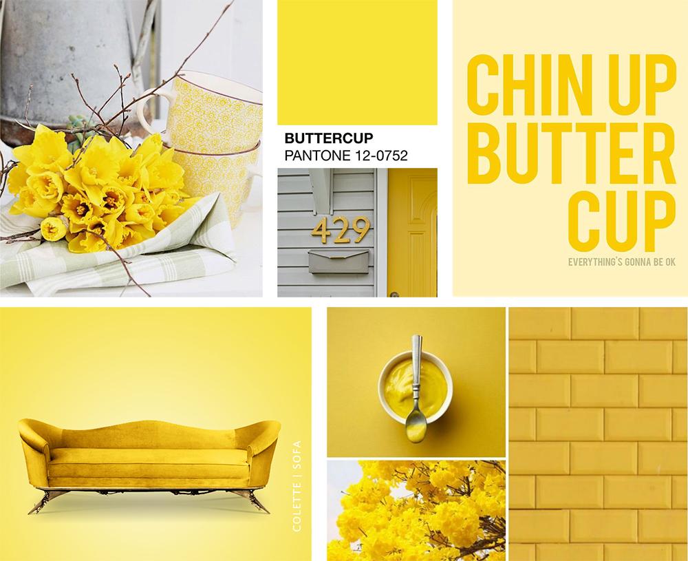 Osez la couleur jaune l 39 an vert du d cor - Couleur complementaire du jaune ...