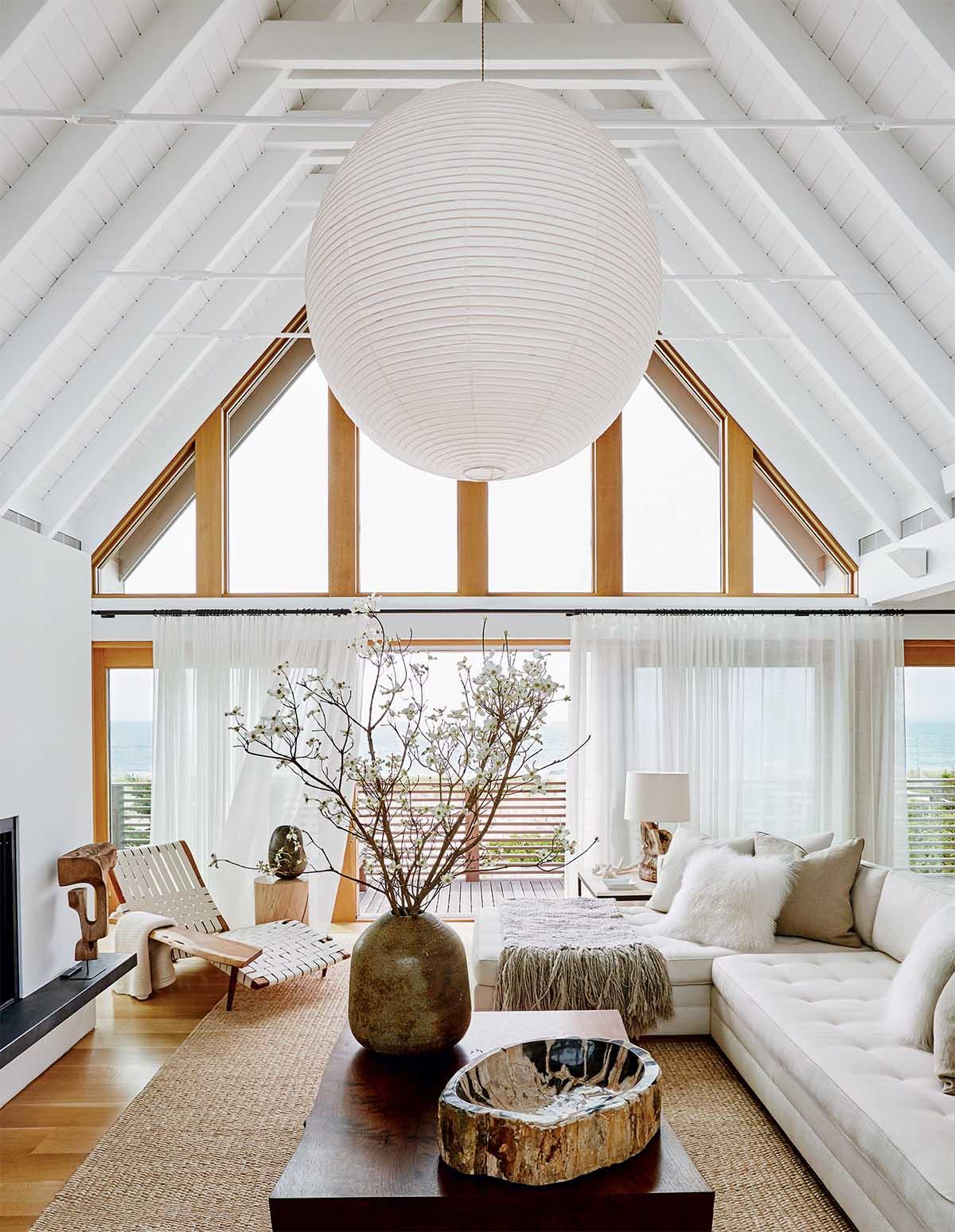 Un salon zen l 39 an vert du d cor for Long island style