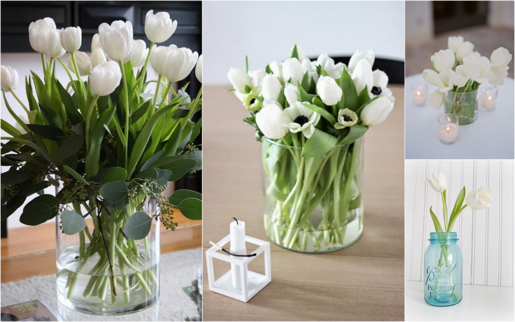 Table tulipes