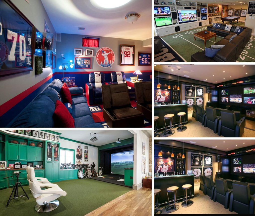 sporty Man Cave